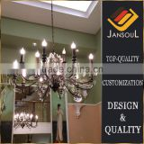 15 lights Brown metal tree branch crystal chandelier                                                                         Quality Choice                                                                     Supplier's Choice