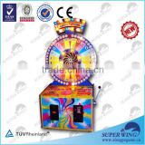 lucky turning coin operated gambling machine
