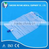 Types of light disposable adult urine collection bag