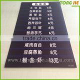 Custom Print Fence Advertising Corflute Sign, Eyelet Coroplast Sheet Signage