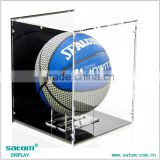 Customized Acrylic Basketball / Football Helmet Display Case