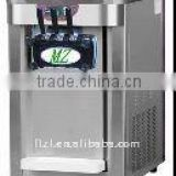 table top three flavor stainless steel ice cream machine/marker BJ188SD