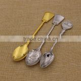 Custom tea soup dinner coffee ice cream stainless steel spoons as souvenirs                                                                                                         Supplier's Choice