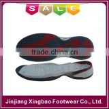 2016 light weight colorful active sports shoe sole for India market