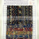 Yarn dyed trible fabric textile for table cloth and chair cover