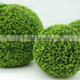 home garden artificial grass ball, customized artificial boxwood ball