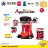 New interesting battery operated coffee machine kitchen toy set for kids