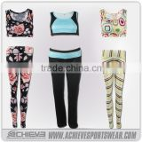 unbranded fitness clothing china sports wear, yoga pants wholesale