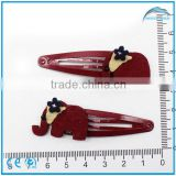Fashion cartoon elephant metal clip,clip in hair extensions for black women,hair clip design