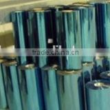 Silver blue color dyed reflective infrared heat well designed building solar tint film