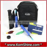 Optical Fiber Connector Cleaning & Inspection Tool Kit Include One Click Cleaner / NTTAT OPTIPOP R Cassette Cleaner + Scope