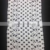 fashion sewing creation white braid poly cotton floral lace trim