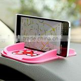 Black Car Dashboard Sticky Pad Mat Anti Non Slip Gadget Mobile Phone GPS Holder Interior Items