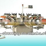 Screen printing semi automatic textile screen printer,T-shirt screen printing machine