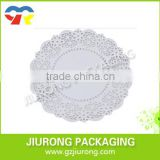 disposable High Quality Round Plain White Paper Doily                                                                         Quality Choice