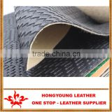 Abrasion-Resistant woven grain leather synthetic upholstery for furniture,chair cover,table mat