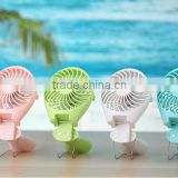 2016 New Wholesale USB Rechargeable Desk Fan, Mini Portable USB Fan