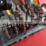 roller chain sprocket for undercarriage parts