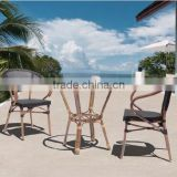 Turkey all weather outdoor furniture sling cheap leisure furniture table and chair garden