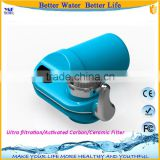 Whole portable house water treatment filter system tap faucet water purifier without electricity