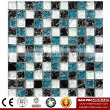 IMARK Mixed Color Ice Crackle Crystal Glass Mosaic Tiles for Wall Decoration Code IVG8-030