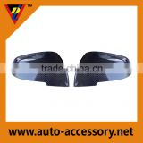 ABS plastic body parts carbon fiber car side mirror cover