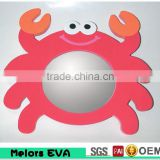 Melors Eva Baby Toy Foam mirror with animal shape