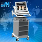 1.0-10mm MY-C50 Promotion Price Portable Hifu Machine For Multi-polar RF Face Lift Beauty Machine (CE Approved ) Pigment Removal