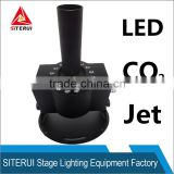 High Quality DMX LED CO2 Flame Machine Swing CO2 Jet Column, Power Stage LED CO2 Jet Machine