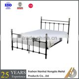 Super King metal brass bed