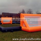 Sewed Inflatable Football Fields for soccer bubble games court,Large Football bubble field adult fun