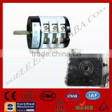 W31 ROTARY SWITCH with face plate face PANEL 32A 3POLE Selector changeover 3 POSITION SILIVER CONTACTOR