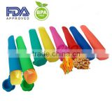 Silicone Rainbow Snack Sleeves