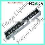 Design 12*3w rgb 3in1 leds exported waterproof design light led wall washer