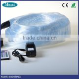 Transparent PVC protection 3*1.0mm shining fiber optic cable for chandelier or curtain using