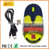 New arrival wireless liquid mouse with customized floater and LOGO,rechargeable wireless aqua mouse