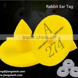 Jiangs Vet Animal Ear Tags For Rabbit 18mm