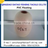 Hot sales pvc foam fishing net float / floats for fishing nets