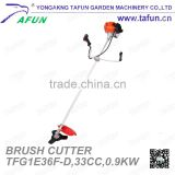 P hand type brush cutter with 32.6cc displacement