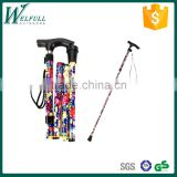 Foldable cane, walking stick for old people SZ17018F