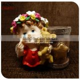 Customize 3D Christmas Angel Statue Candle Holder