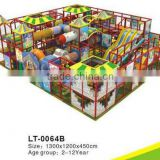 CE/TUV/ISO9001 Certificated Children Indoor Playground Centers LT-0064B