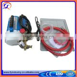 Portable water pressure hydrostatic testing equipment electric test pump
