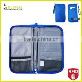 RFID Blocking Travel Passport Document Bag