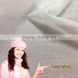 Embroidery non woven backing cotton fabric patch logo paper interlining Colored fusible interfacing