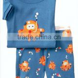 2014 Boys children cotton t shirt set