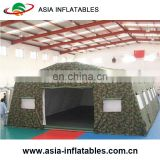 Customized inflatable air tight tent, inflatable army tent for camping, Camouflage waterproof military tent canvas fabric tent