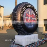 Ningbang hot sale advertising inflatable tire model,inflatable tire balloon,inflatable tire advertising