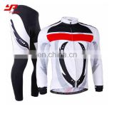 2017 hot sale custom sublimation fabric comfortable quick dry cycling clothing