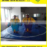 Funny 0.45mm pvc tarpaulin sumo wrestling costume inflatable fighting sumo suits for kids